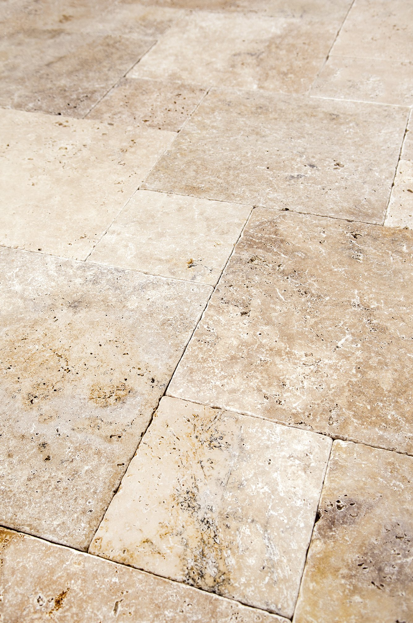 Classic Ivory Blend French Pattern Pavers
